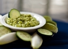 Avocado-Cucumber Dip - American Diabetes Association® | Your Food Your Health | Scoop.it