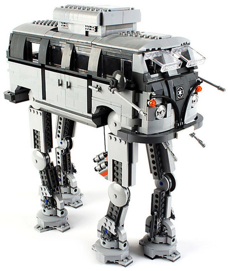 LEGO Imperial Volkswagen Walker | All Geeks | Scoop.it