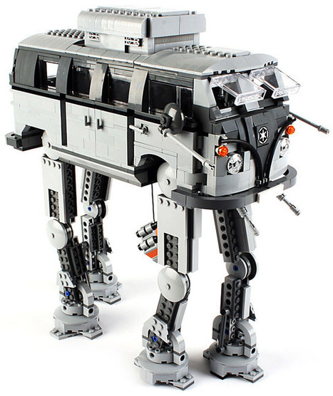 "LEGO Imperial Volkswagen Walker | ""#Social World, Internet, Gadgets, Computers, CellPhones, Future, Space"" 