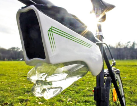 This Solar-Powered Gadget pulls water from the air while you ride your Bike | Technology in Business Today | Scoop.it