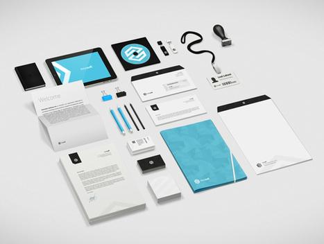 Innosoft Visual Identity Case Study | Abduzeedo Design Inspiration & Tutorials | Identité de marque | Scoop.it