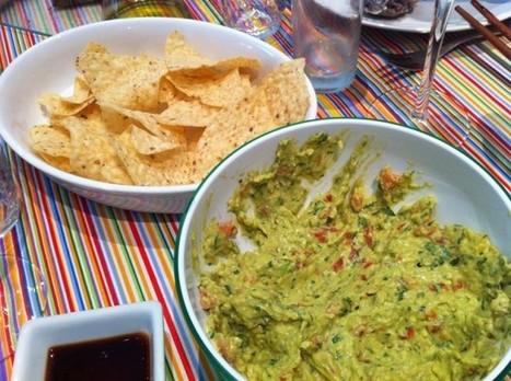 Nachos con guacamole   FlavorCook IT!   Scoop.it