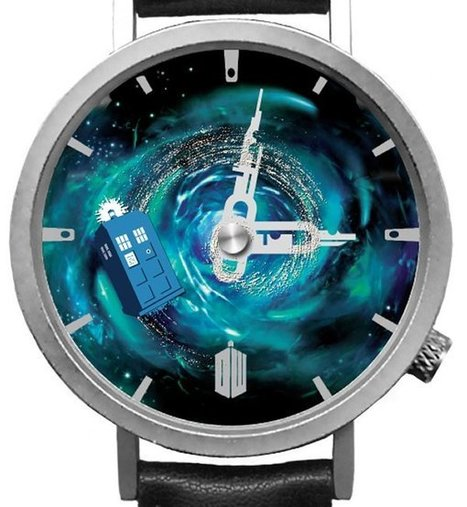 Doctor Who Watch With Flying TARDIS   What Men and I Like to Wear !   Scoop.it