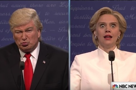"WATCH: Alec Baldwin's Donald Trump loses it in ""SNL"" debate sketch: ""They are ripping babies out of vaginas!"" 