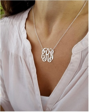 A Personalized Monogram Necklace Makes a Nice Gift | Monogrammed Necklaces | Scoop.it