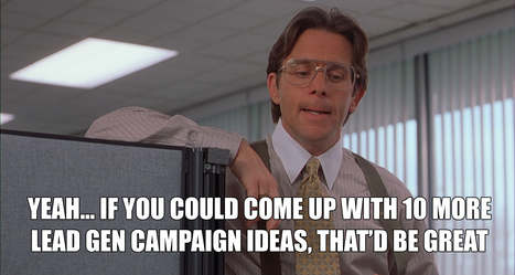 4 Lead Gen Campaign Ideas (+ the Landing Page Templates to Power Them) | Digital Brand Marketing | Scoop.it
