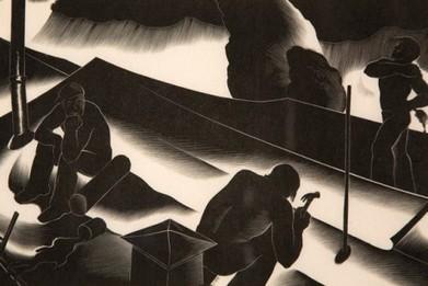 Depression-era prints that celebrate work | D_sign | Scoop.it