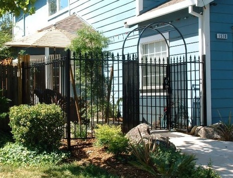 Iron Fencing, Iron Gates and More | Ornamental Iron | Wrought iron fencing | Driveway gate | Scoop.it