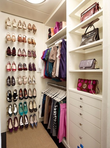 30 Walk In Closet Design Inspiration | yourhomyhome.com | Modern Home Design | Scoop.it