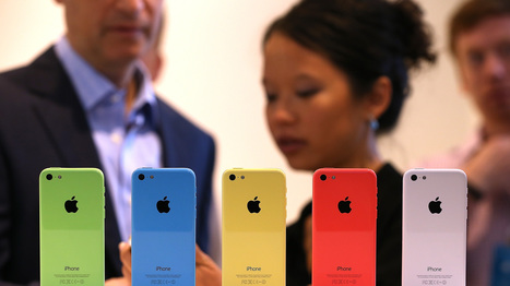 Will New iPhone Colors Create A Hierarchy Among Users? : NPR | An Eye on New Media | Scoop.it