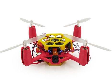 Un kit pour fabriquer son propre drone | Ressources pour la Technologie au College | Scoop.it
