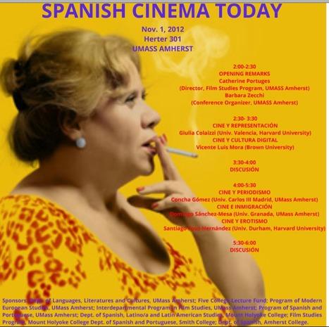 International Conference on Contemporary Spanish Cinema | The UMass Amherst Spanish & Portuguese Program Newsletter | Scoop.it