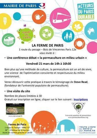 Permaculture à Paris, utopie ou réalité ? » Paris côté jardin | Cultiver la terre autrement | Scoop.it