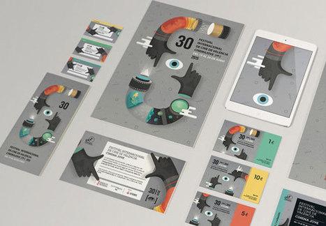 30th Cinema Jove Film Fest - 2015 Campaign by Casmic Lab   #Design   Scoop.it