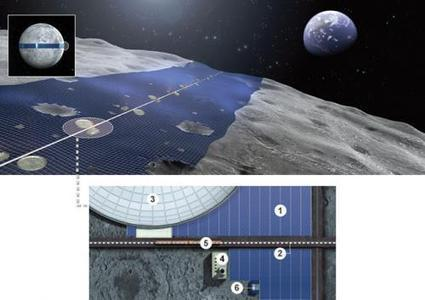 Japanese firm proposes LUNA RING to send solar energy from moon to Earth | Interesting thoughts | Scoop.it