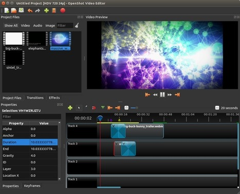 OpenShot Video Editor - Logiciel de montage video Gratuit | Actus vues par TousPourUn | Scoop.it