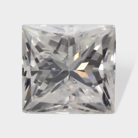 0.14 ctw 2 89 x 2 71 mm G White Color SI2 Clarity Princess Cut Real Diamond | Loose Diamonds | Scoop.it