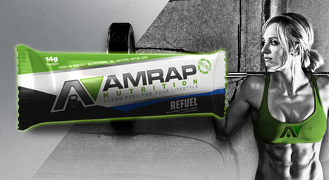 AMRAP Nutrition - Refuel Bars Product Review - | fitness apparel and crossfit gear | Scoop.it
