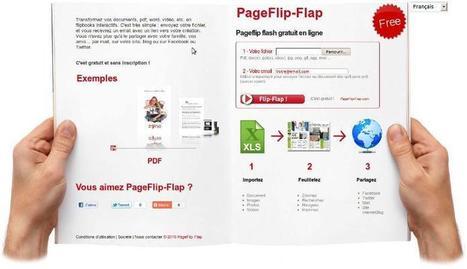 PageFlip-Flap : un outil en ligne pour créer des Flipbooks | Time to Learn | Scoop.it