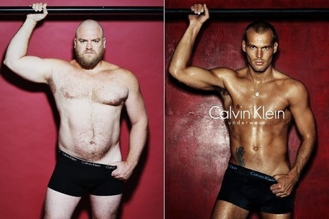 """Real men vs. underwear models"" project is a win for male body confidence 