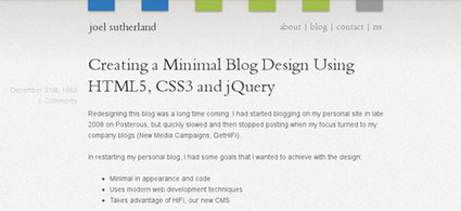 18 Detailed HTML5 Website Layout Coding Tutorials   tejasankar   Scoop.it
