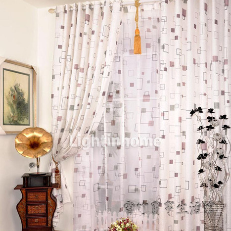 Simple curtains also can take different feeling | wedding dress | wedding dresses | Scoop.it