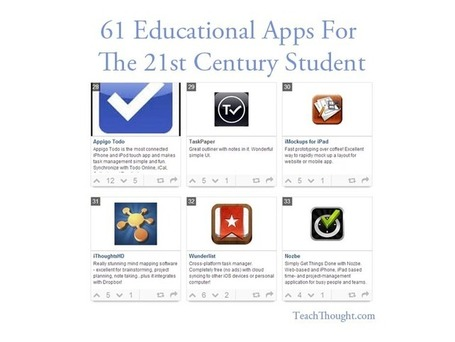 61 Educational Apps For The 21st Century Student | Web Tools for Education | Scoop.it