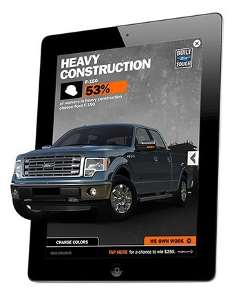 Ford - Team Detroit and [a•mo•bee] Bring the Ford F-150 to Life with Innovative 3D Mobile Ad Campaign - Customers - [a•mo•bee] | 3d Innovations | Scoop.it