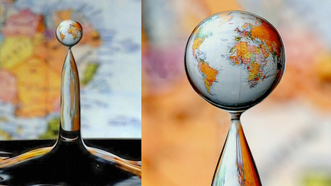 This Mindblowing Photo of a World Map In a Water Drop Is Real | Machinimania | Scoop.it