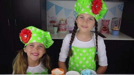 This 8-Year-Old Girl Makes $127,000 a Month Baking Sweets on YouTube | Inspiratie | Scoop.it