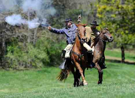 Meet the Family That Trains Civil War Horses…in 2015 | Horses and Equine Related Info | Scoop.it