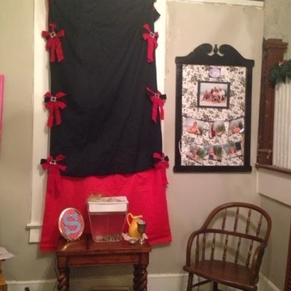 Confessions of an ADD Housewife: Holiday window treatment | Window Treatments | Scoop.it