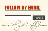 "Styles For ""Follow By Email"" Gadget In Blogger - Blogs Daddy 