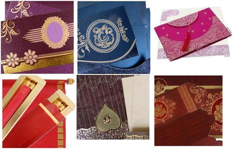 Beautiful Wedding Invitations at Your Doorstep | Hindu Wedding Cards | Scoop.it