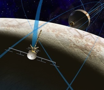Spaceflight Now | Breaking News | Economics, water plumes to drive Europa mission study | Europa News | Scoop.it