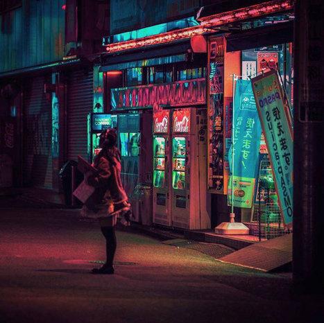 Liam arpente les rues de Tokyo durant la nuit pour capturer l'effervescence de cette ville lumineuse | Artistes de la Toile | Scoop.it