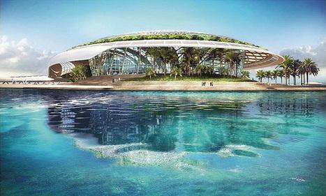 Architecture : une goutte d'eau dans la mer d'Oman - Zepros   Déco Actu   Scoop.it