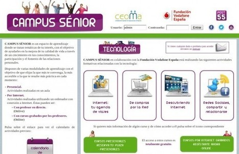 Campus Senior – Internet para mayores, con cursos gratuitos presenciales y online | Alfabetización digital | Scoop.it