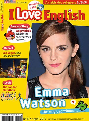 I Love English -avril 2014 | Revue de presse du CDI du Collège Langevin d'Hennebont | Scoop.it
