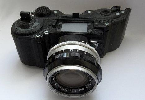 Open Reflex, l'appareil photo open-source imprimé en 3D | Solutions locales | Scoop.it
