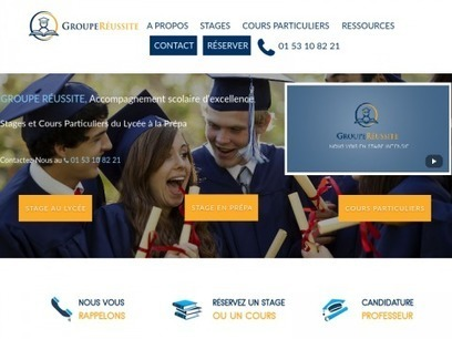 Groupe réussite: les cours particuliers à paris | Annuaire SeObjectif | Scoop.it