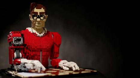 LEGONARDO : Un automate portraitiste entièrement conçu en LEGO   Actualité robotique   Scoop.it