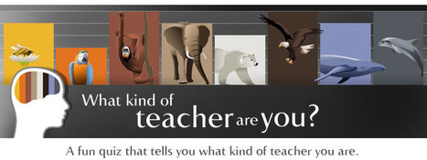 What kind of teacher are you? - British Council | Teachning, Learning and Develpoing with Technology | Scoop.it