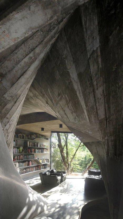 Oryginalna domowa biblioteka | Wnętrza inspiracje | Home Design | Scoop.it