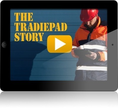 iPad Apps for Tradies - Business Management Solutions   Tradiepad   The TradiePad Story   Scoop.it