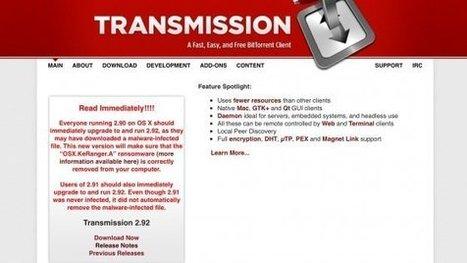 Attenti, è uscito il primo ransomware per Mac OSX: il malware che chiede il riscatto | Italica | Scoop.it