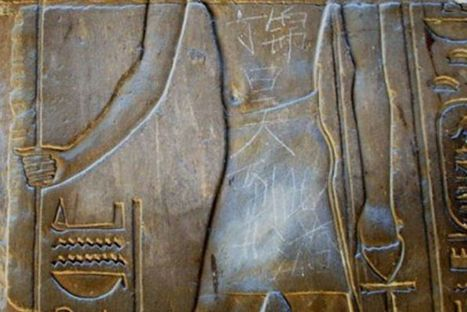 Chinese Teenager Defaces Luxor Temple   World News   Scoop.it