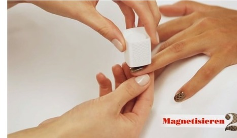 Video: Wie funktioniert das eigentlich mit dem magnetischen Nagellack? - HYYPERLIC | Lifestyle | Scoop.it