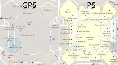 Awesome possibilities with Indoor Positioning System - Think GPS is cool? IPS will blow your mind. | liblog | Scoop.it