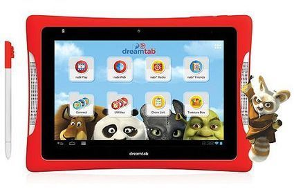 Nabi DreamTab HD8 | Kids Tablet | Scoop.it